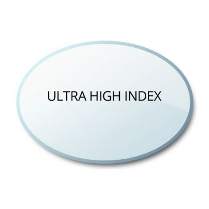 Single Vision Clear Ultra High Index 1.80 Glass Lenses