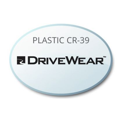 Single Vision DriveWear Plastic CR39 Lenses