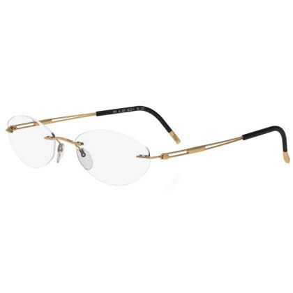 Silhouette Rimless 5227 Titan Next Generation Eyeglasses Gold (6051)