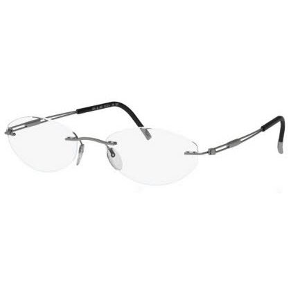 Silhouette Rimless 5227 Titan Next Generation Eyeglasses Grey Matte (6061)