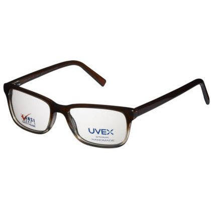 Titmus TR 318 with Side Shields - Zyl Collection Eyeglasses Brown Fade