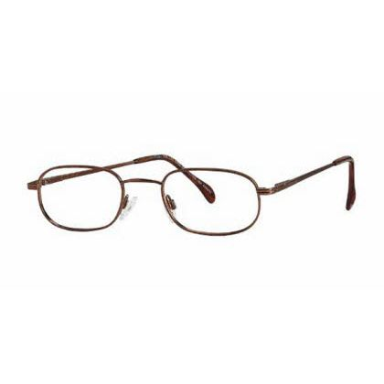 Titmus PC 267 with Side Shields -Premier Collection Eyeglasses Antique Brown (ANB)