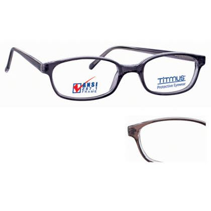 Titmus FC 705 with Side Shields Eyeglasses Brown (C076)