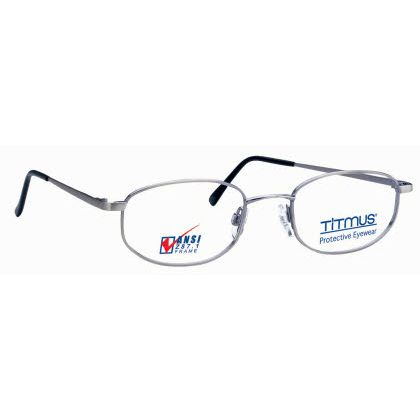 Titmus FC 706 with Side Shields Eyeglasses Antique Silver Matte (ASM)