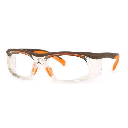 Titmus SW 06-SWRx Collection Eyeglasses Brown/ Orange (BRN)