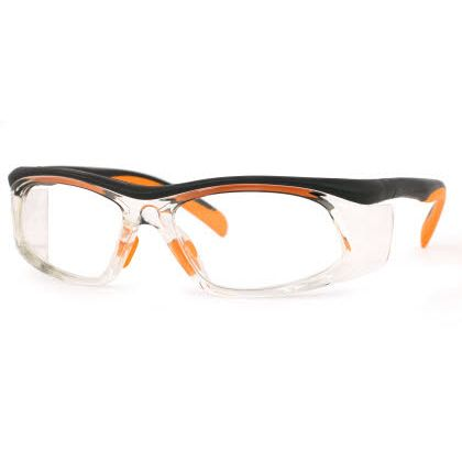 Titmus SW 06E-SWRx Collection Eyeglasses Black/Orange (BLK)
