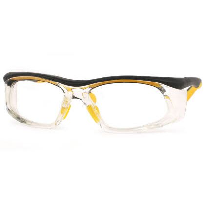 Titmus SW 06-SWRx Collection Eyeglasses Clear Body/ Black/ Yellow (CLR)